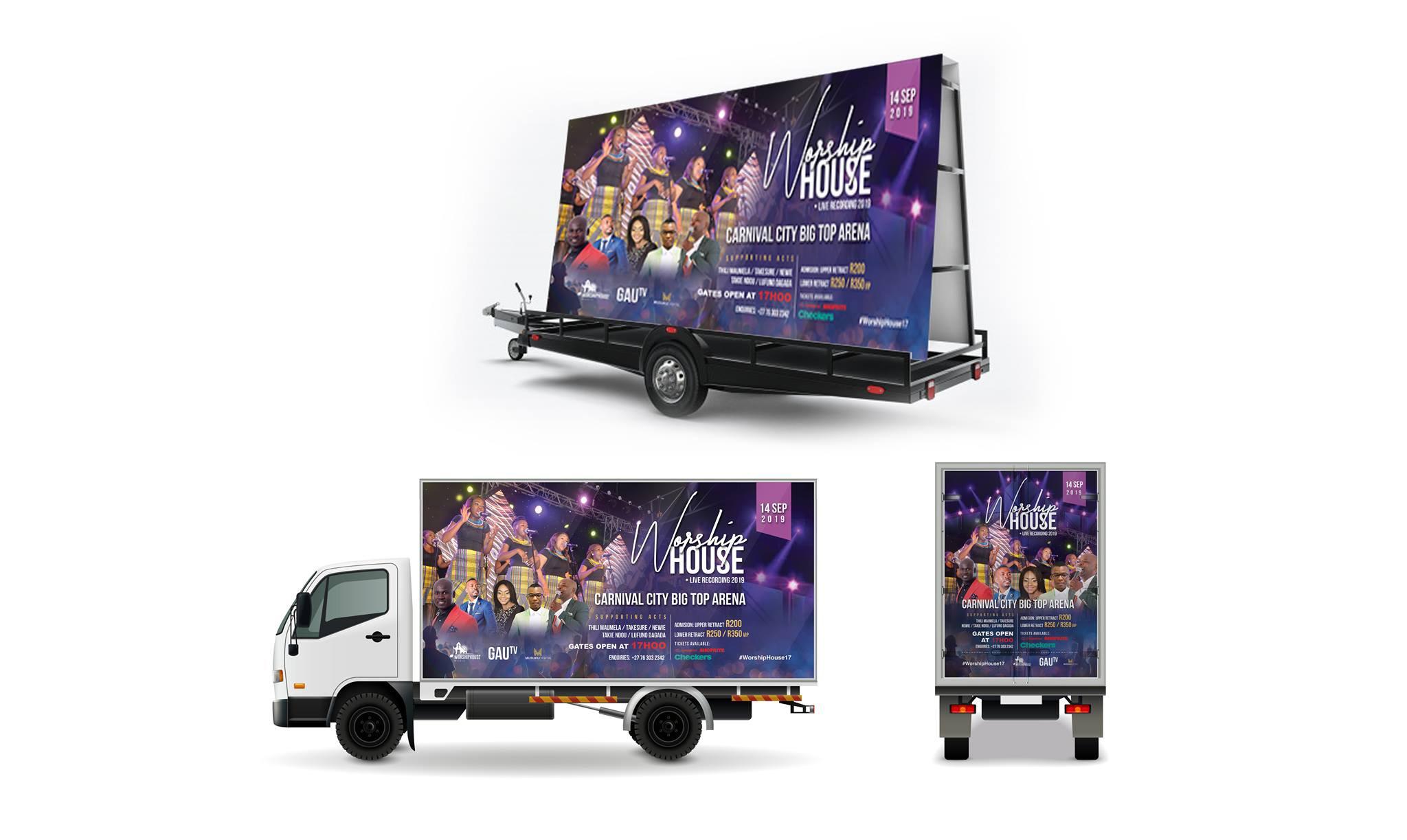 Worship House Concert Branding