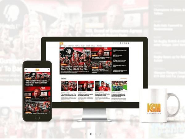 KCM Global Sports Website