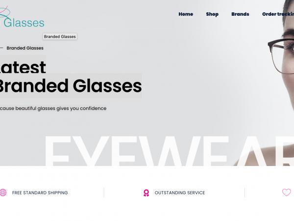 Branded Glasses Website